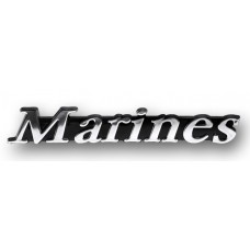 Marines Triple Chrome Plated Adhesive ABS  Emblem