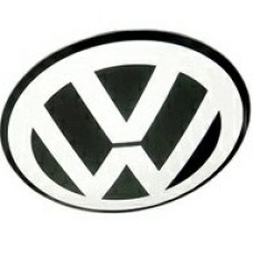 V German Car W Center Hub Cap Emblems (FOUR)
