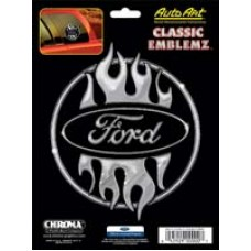 Ford Flame Design Decal