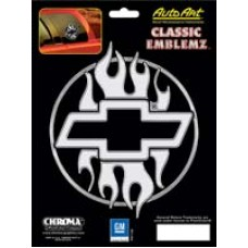 Chevy Flame Design Decal