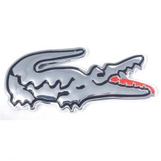 Alligator Chrome Auto Emblem