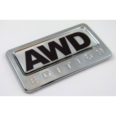 AWD Edition 3D Chrome Emblem
