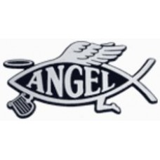 Angel Fish Chrome Car Emblem