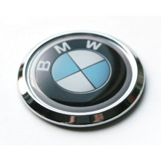 BMW Car Chrome Emblem Decal Hood Bumper Domed Sticker