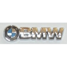 BMW Chrome with Color Logo Emblems - PAIR