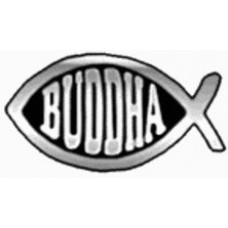 Buddha Chrome Fish Emblem