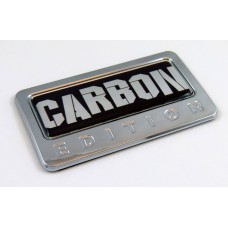 Carbon Edition 3D Chrome Auto Emblem