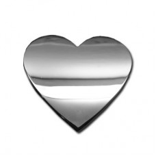 Heart Chrome Emblem