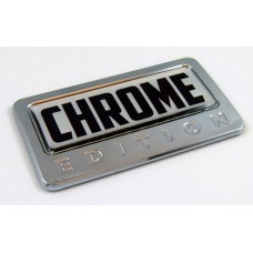 Chrome Edition 3D Chrome Auto Emblem