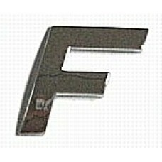 Chrome Letter Style 2 - F