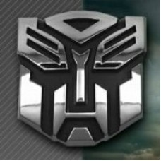 Transformer Chrome Emblem Autobots
