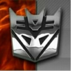 Transformer Chrome Emblem Decepticon