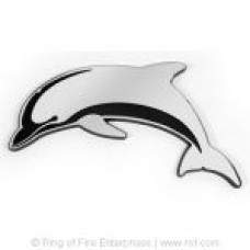 Dolphin Chrome Emblem