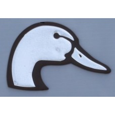 Duck Head Chrome Emblem