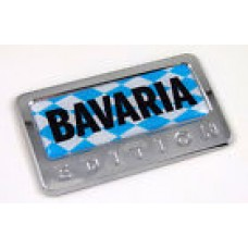 Germany Bavaria German Edition 3D Chrome Emblem