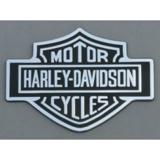 Harley Davidson Black and Chrome Emblem