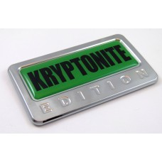 Kryptonite Edition 3D Chrome Emblem