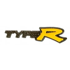 TYPR R Carbon Fiber YELLOW Emblem