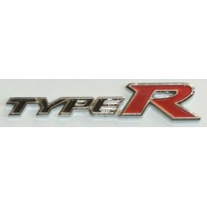 TYPE R Chrome with Red Emblems - PAIR