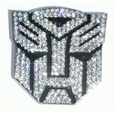 Transformer BLING BLING Autobot Chrome Auto Emblem