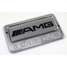 amg special edition adhesive chrome emblem