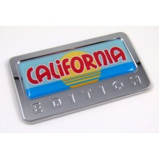 california special edition adhesive chrome emblem