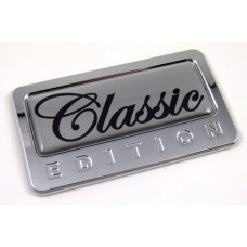 classic special edition adhesive chrome emblem