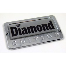 diamond special edition adhesive chrome emblem