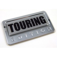 touring special edition adhesive chrome emblem